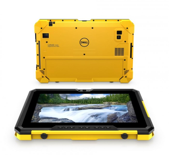 [图]戴尔推Latitude 7220EX Rugged Extreme平板:可在爆破环境下使用